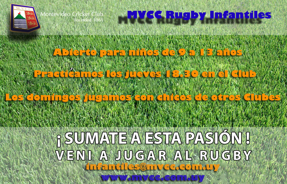 COMIENZO DEL RUGBY INFANTIL